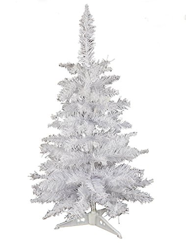 HAAC - Albero di Natale di colore bianco, 40cm