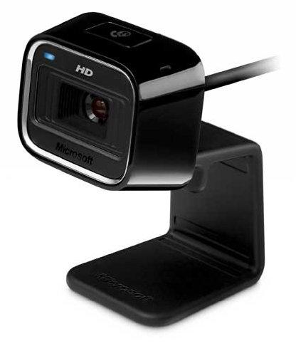 Microsoft LifeCam HD-5000 (Skype zertifiziert) [alte Verpackung]