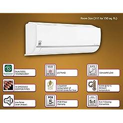 LG 1.5 Ton 5 Star Wi-Fi Inverter Split AC