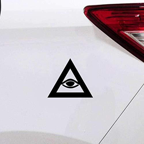 Autoaufkleber Lustige All Seeing Eye Illuminati Verschwörungstheorien Aufkleber Auto Aufkleber