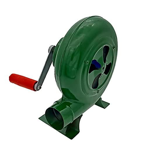 LBSY Manivela Herrero Forja Soplador, Iron Gear Ventilador Manual de Palomitas de Maíz, Gran Regalo de Accesorios para Parrilla, 80W, 120W, 150W, 200W, 250W, 300W, 350W