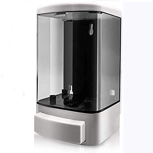JoaSinc Dispensador de jabón montado en la Pared 1000ML (1L), dispensador Manual de plástico Lavado a Mano Bomba de jabón Champú Loción Acondicionador Cámara de Gel de Ducha para baño o Cocina