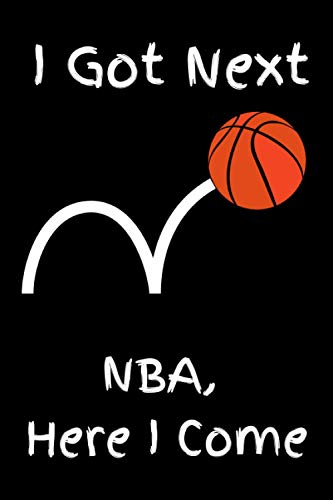 NBA Here I Come: Notebook/Journal/Diary 6x9 for Boys 120 Lined Pages
