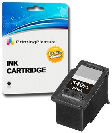 1 XL SCHWARZ Druckerpatrone für Canon Pixma MG4250 MG4150 MG3650 MG3550 MG3250 MG3150 MG2250 MG2150 MG3500 MG3600 MX455 MX475 MX515 MX525 MX535 MX375 MX395 MX435 | kompatibel zu PG-540XL (PG540XL)