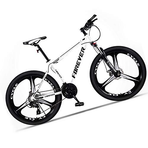 Bicicleta montaña Adulto Hombre de Acero de Alto Carbono Velocidad Bici Descenso...