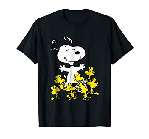 Peanuts Snoopy chick party T-shirt