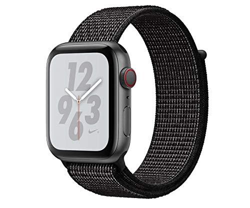 Apple Watch Nike+ Series 4 Reloj Inteligente Gris OLED Móvil GPS (satélite) - Relojes Inteligentes (OLED, Pantalla táctil, GPS (satélite), Móvil, 30,1 g, Gris)