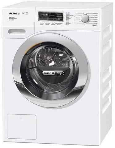 Lavasciuga slim Miele profondità 63.7 cm WTF115 WCS, Lavasciuga, A, 41 dB, 1600 rpm, Carico Frontale, 7/4 kg, Bianco