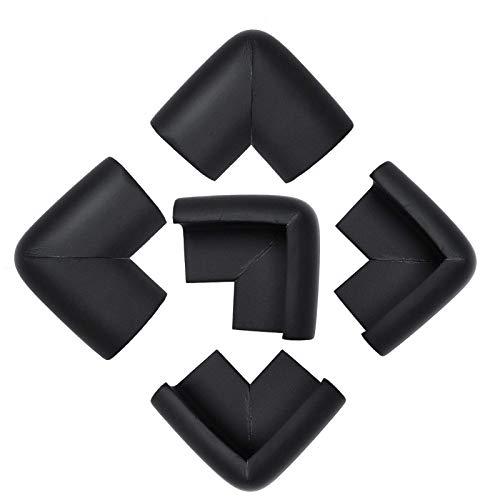 KOMOSO Pack de 5 almohadillas protectoras para bordes de mesa de espuma para muebles, protectores de esquina, protectores de parachoques, color