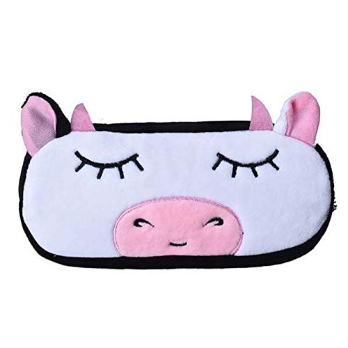 Easy to Carry 1PCS Pencil Case Cute 3D Plush Panda Pencil Bag Large-Capacity School Supplies Children's Novel Items Multifunctional Stationery Box Office Supplies (Color : 1)