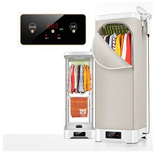 Secadora de ropa y máquina de planchado, multifuncional inteligente Rack de secado de doble capa Lav