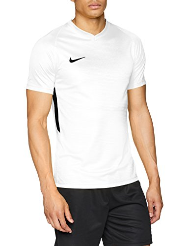 Nike Tiempo Premier Jersey SS Maillot Homme, White (Black), FR : M (Taille Fabricant : M)