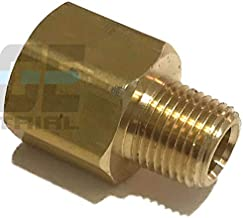 EDGE INDUSTRIAL Brass Pipe Adapter 1/4
