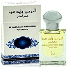 Haramain White Oudh for Men and Women (Unisex) CPO - Concentrated Perfume Oil (Attar) 15 ML (0.51 oz)