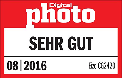 "Eizo CG2420 24.1"" Full HD IPS Negro Pantalla para PC LED Display - Monitor (61,2 cm (24.1""), 400 CD/m², 1920 x 1200 Pixeles, 10 ms, LED, Full HD) 15"