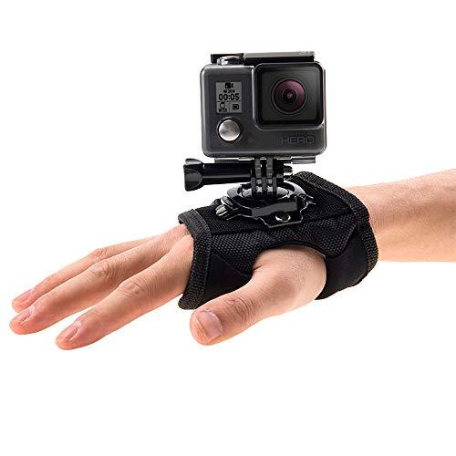YUANYI Correas de mano 3 en 1 para brazo de muñeca de 360 grados de rotación para GoPro NEW Hero /HERO7/6/5/5 Session /4 Session /4/3+/3/2/1, DJI Osmo Action, Xiaoyi y otras cámaras de acción