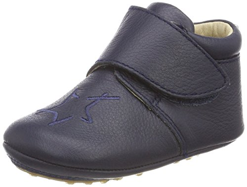 bellybutton Baby Jungen Anastacia Shoes Slipper, Blau (Dunkelblau), 21 EU