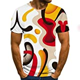 SSBZYES Camisetas para Hombres Camisetas De Manga Corta para Hombres Camisetas Estampadas De Talla Grande para Impresión Digital En 3D Muscle Abdominal Muscle T-Shirts Camisetas De Manga Corta para