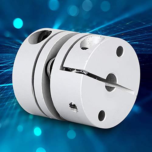 Acoplador de eje, aleación de aluminio, metal, CNC, accesorios de motor paso a paso, acoplador, adaptador de eje, para máquina hidráulica, bomba química, ventilador, bomba de agua