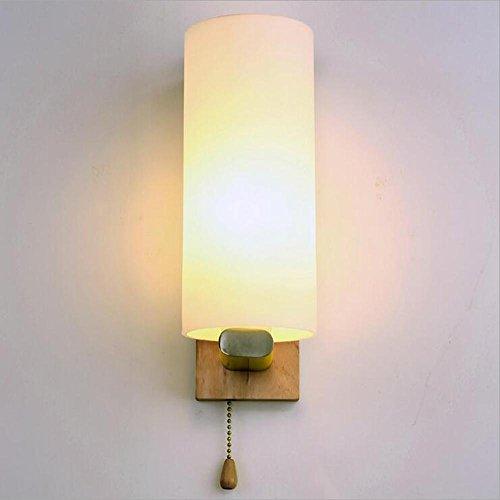 NIHE E27 chambre mur balcon allée lampe de chevet vie simple mur LED haubané