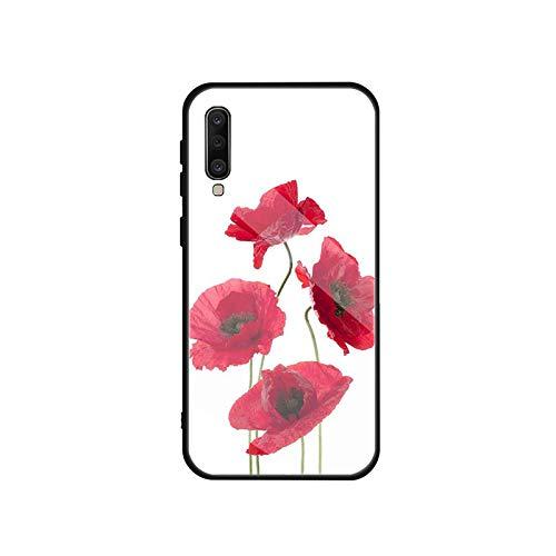 Phonecase - Carcasa de cristal templado para Samsung Galaxy A 10S, 10E, 20S, 20E, 30S, 40, 50S, 60, 70, 80, 90, 6, 7, 8, Shell-B2001102-09.Jpg-For A8 Plus 2018