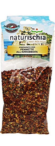 Naturischia - 3 confezioni di preparato per Pennette all'arrabbiata 100 gr. ciascuna - Prodotto tipico Ischia