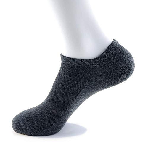 Heren outdoor sokken hoogwaardige, ademende deodorant-zomerzweet absorberende eenkleurige werksokken voor heren met lange slang, stijl H 19 paar hoogwaardige, ademende deodorant-zomer
