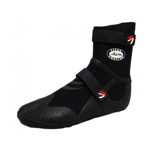 Ascan Star Split 5 mm - Zapatos de Neopreno - Neopreno, Neopreno Negro, EUR 47-48
