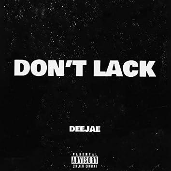 Don't Lack