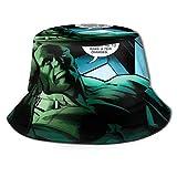 Hu-LK Bucket Sun Hat para Hombres y Mujeres - Gorra de Pescador de Verano Plegable de protección para Pesca, Safari, Playa y Paseos en Bote Black-ZAR