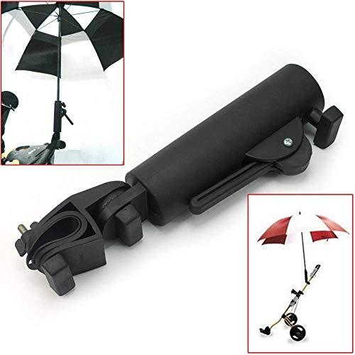 Muttify Golf Cart Parapluie Support, Angle intérieur et...