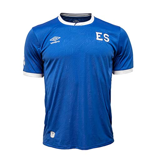 Umbro Youth EL Salvador Home Jersey (Blue/White) (YL)