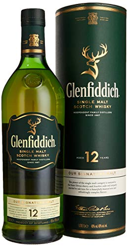 Glenfiddich 12 Jahre Single Malt Whisky (1 x 1 l)