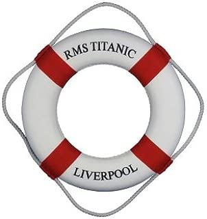 rms titanic life preserver
