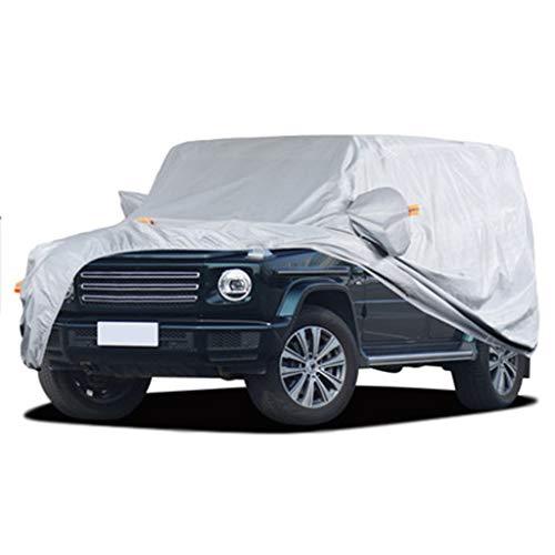 Four Seasons SUV Car Cover/Kompatibel mit Mercedes-Benz G-Klasse/Kratzer beständig Prevent Saurer Regen Car Cover Plus Velvet Träger-Abdeckung Automobil-Bekleidung