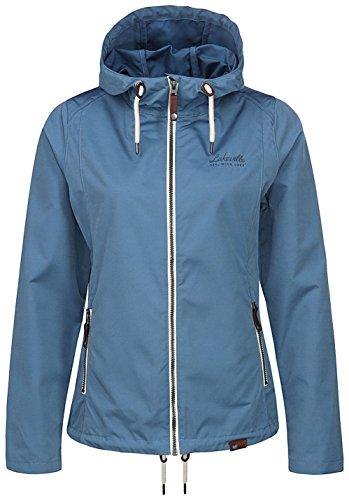Lakeville Mountain Damen Übergangs-Jacke MONGALA   Leichte Funktionsjacke mit Kapuze   Dünne & Atmungsaktive Freizeit-Jacke