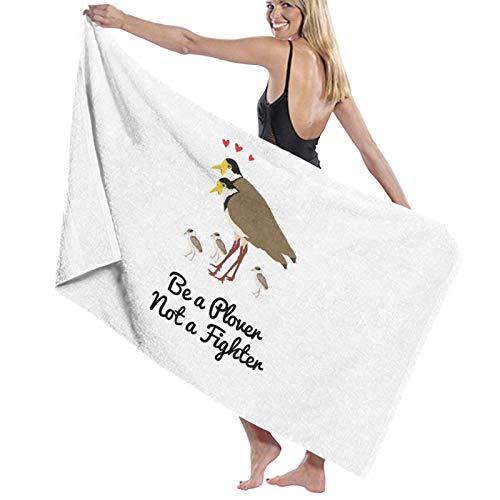 U/K Be A Plover Not A Fighter Asciugamano da bagno ad asciugatura rapida