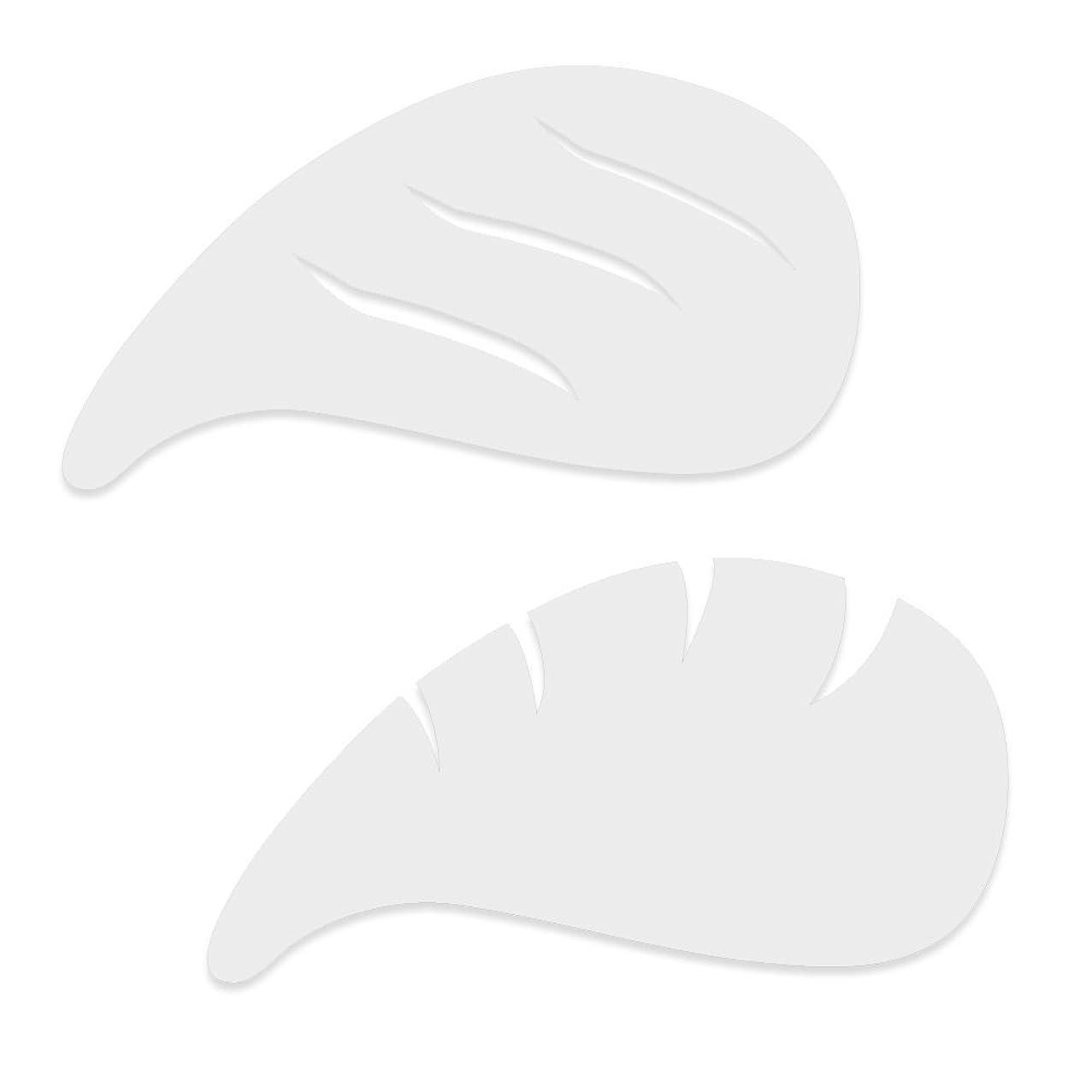 Dinair Airbrushing Professional Eyeliner, Eyebrow, Cateye Stencil