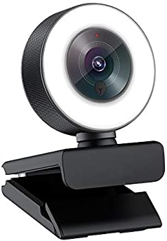 Angetube 1080p Webcam with Light Ring