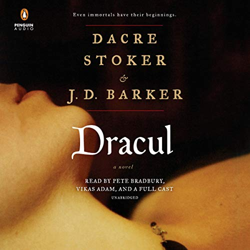 Dracul audiobook cover art