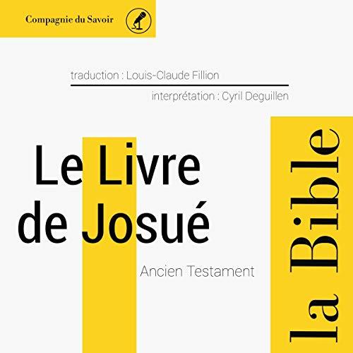 Couverture de Le livre de Josué