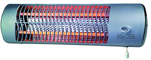 Drexon 704200 - Stufetta a infrarossi per bagno, 1200W