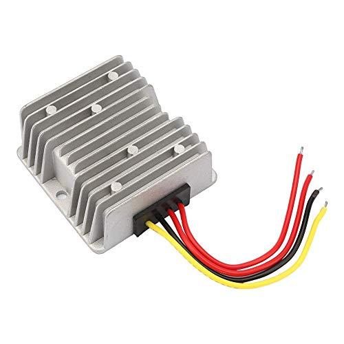 Voedingmodule, AC12V 24V naar DC5V AC-DC-omvormer, grote aluminium behuizing, voedingseenheidsmodule-adapter voor autoradio, LED-display, fotovoltaïsch paneel 8 A.
