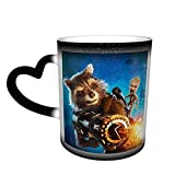 Groot Tree Man Tazza da caffè in ceramica che cambia colore novità famiglia amanti amici ufficio e casa regalo di salute