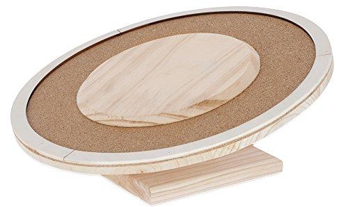Kerbl 82856 Laufteller aus Holz 30