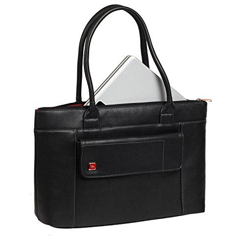 Rivacase Lady's Edition Tasche für Notebook bis 39,6 cm (15,6 Zoll) schwarz - RIVACASE Partner des Galapagos Conservation Trust