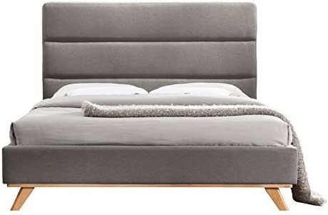 Omax Decor Kennedy Platform Bed Queen Gray product image