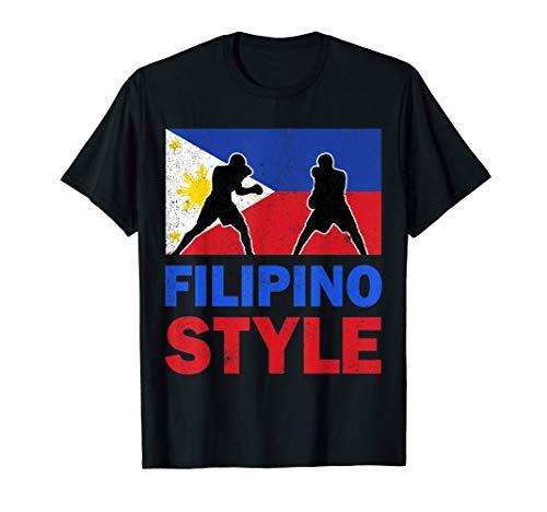 Philippine Flag Filipino Boxing Club Vintage T-Shirt