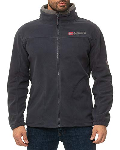 Geographical Norway Herren Fleecejacke Tamazonie Men Navy - Dark-Grey XXL