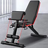 2020 NEW Adjustable Weight Foldable Bench Fitness Equipment, Roman Chair, Full Body Training Workout Sit-Up Incline Bench for Home Gym Exercise Sports